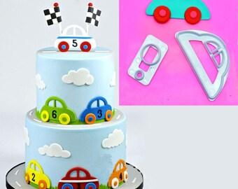 3pcs Set Shell Fondant Kuchen Dekorieren Tools Cookies Etsy