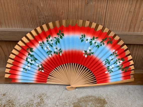 Japanese fan - sensu - folding fan