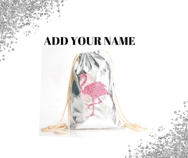 Personalised Drawstring Bag Any Name Iron Man Swimming School Nursery PE Gift 1