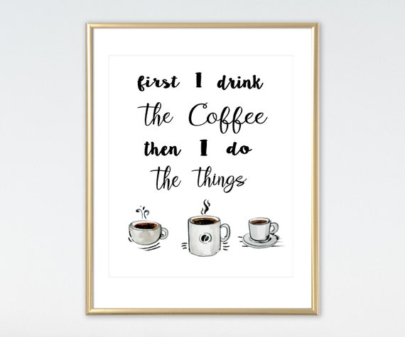 Sale Coffee Quote Office Decor Office Wall Art Kitchen Decor Etsy