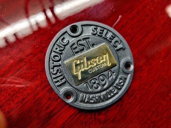 cromado Placa de metal con base plana para Gibson LP Les Paul