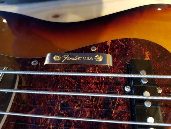 1//2Pcs Fender thumb rest for vintage jazz//precision bass JM X0DE
