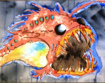 Electric Angler Fish