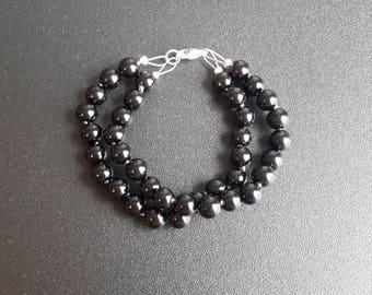 Onyx Double Strand Bracelet