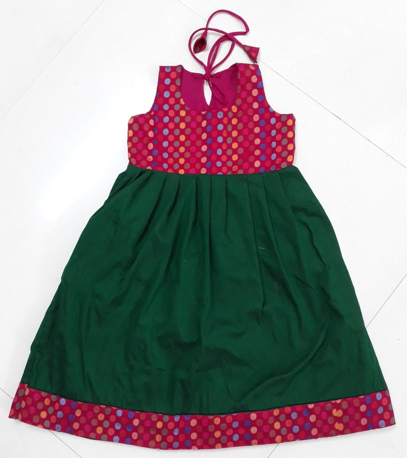 Baby girl dress indian silk frock infant dress party wear  0bcdae288