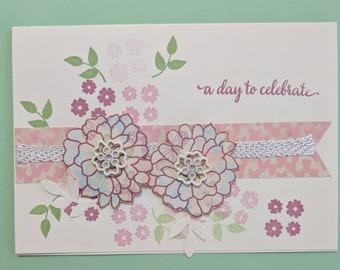 Handmade celebration card