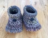 Earthy Camo Wool Knit Sli...