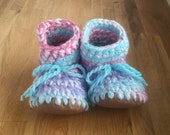 Cotton Candy Knit Slipper...