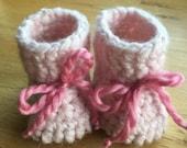 Light Pink Knit Slipper w...