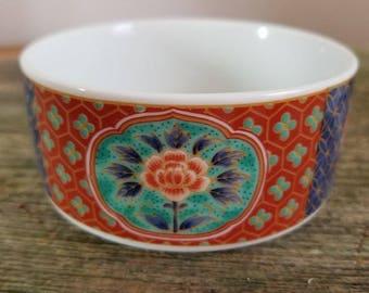 Takahashi Oriental Decorative Bowl Made in Japan
