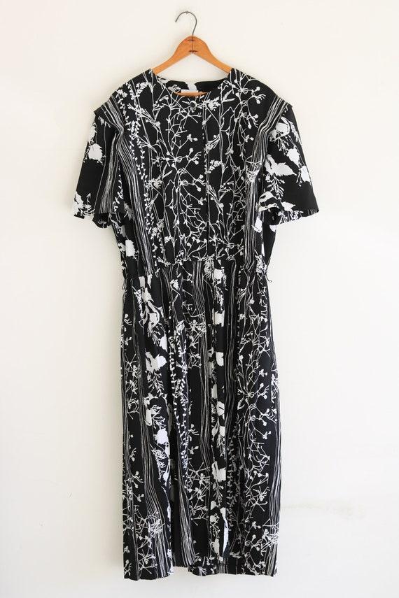 80s Dress Plus Size Vintage Dress
