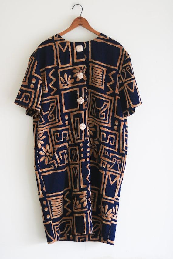 Vintage Dress 90s Vintage Dress Plus Size Dress