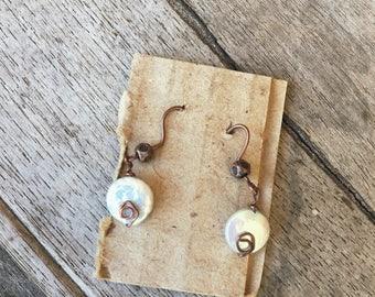 Handmade Draht umwickelt Ohrringe