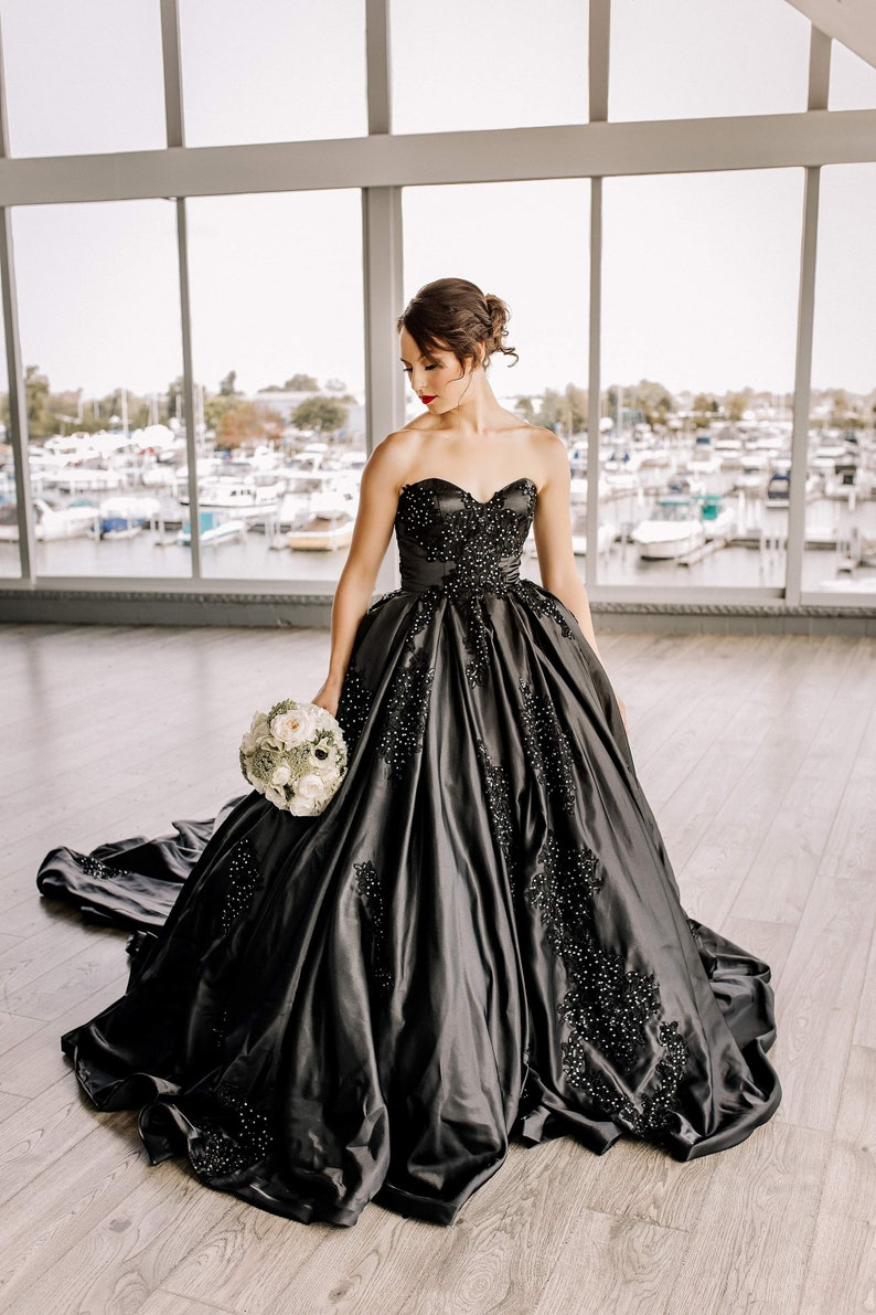 Black Wedding Gowns | Stay at Home Mum