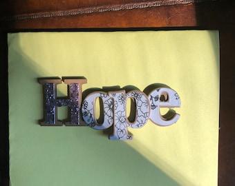 """Hope"""" card"""