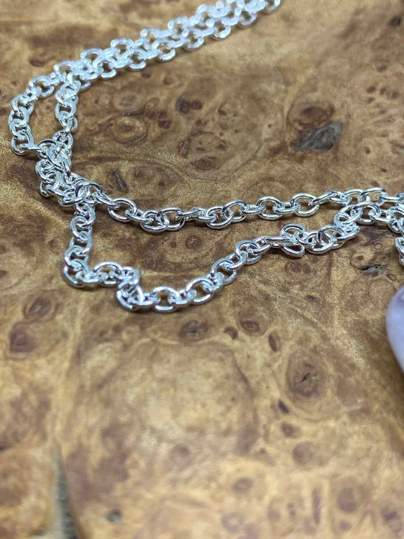 Amethyst With Silver Woven Wire Necklace