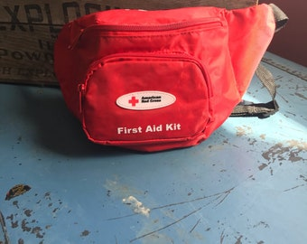 Vintage Red Cross Fanny Pack