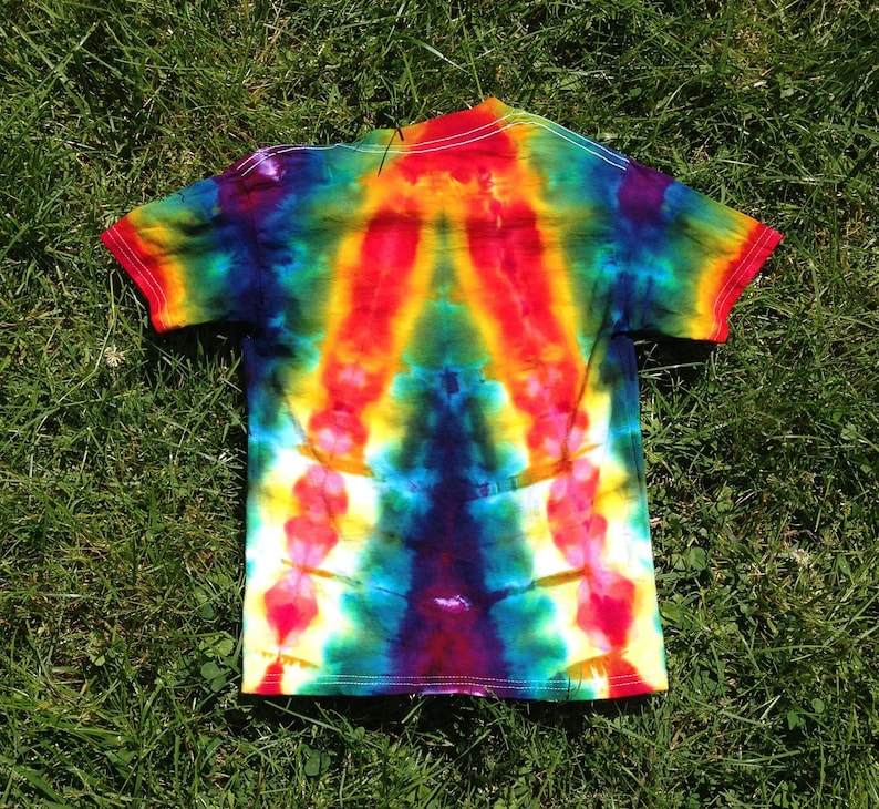 Toddler CHILD Size XS 2T-4T Tie Dye Tee Shirt for boys or ...