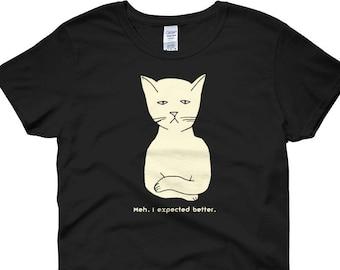 7551ae5b Bored Funny Cat shirt -