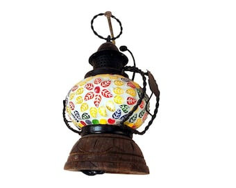 Indian hand made electric lamp