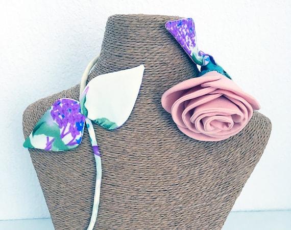 Designer jewel inspired brooch for women's rose