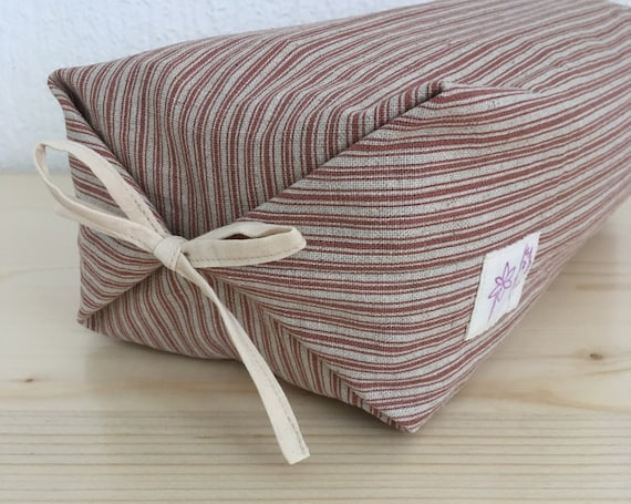 Lavender cushion France with japanese cotton cover washable for relaxation