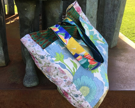 Large single piece fabric bag for all purposes