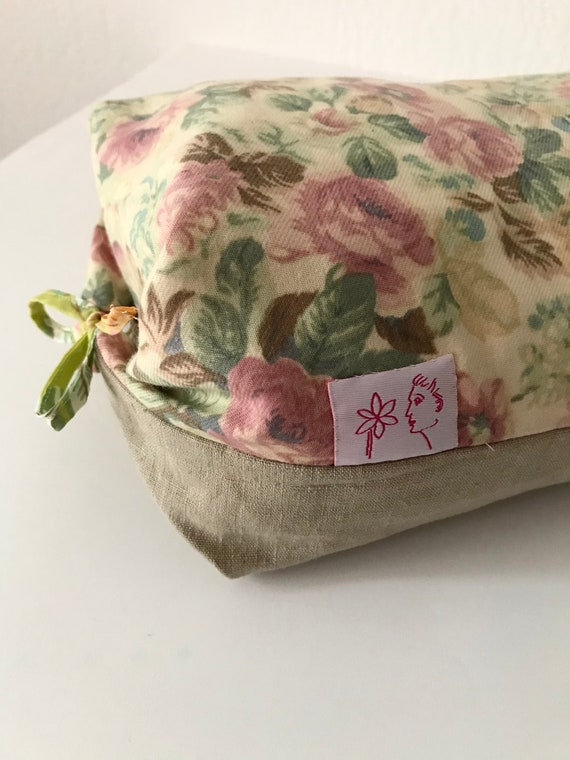 Large lavender cushion for relaxation with Japanese-style cover