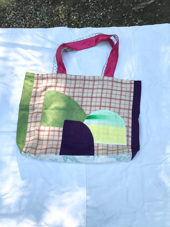 Large all-purpose decorative fabric bag
