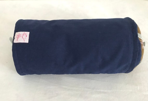 Wellness cushion filled with lavender with washable over-cover for relaxation