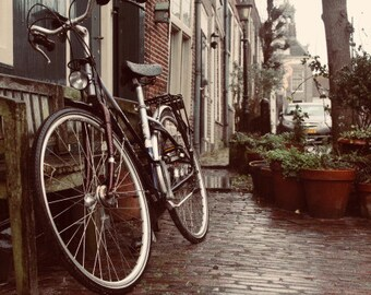 Amsterdam bike print, instant download