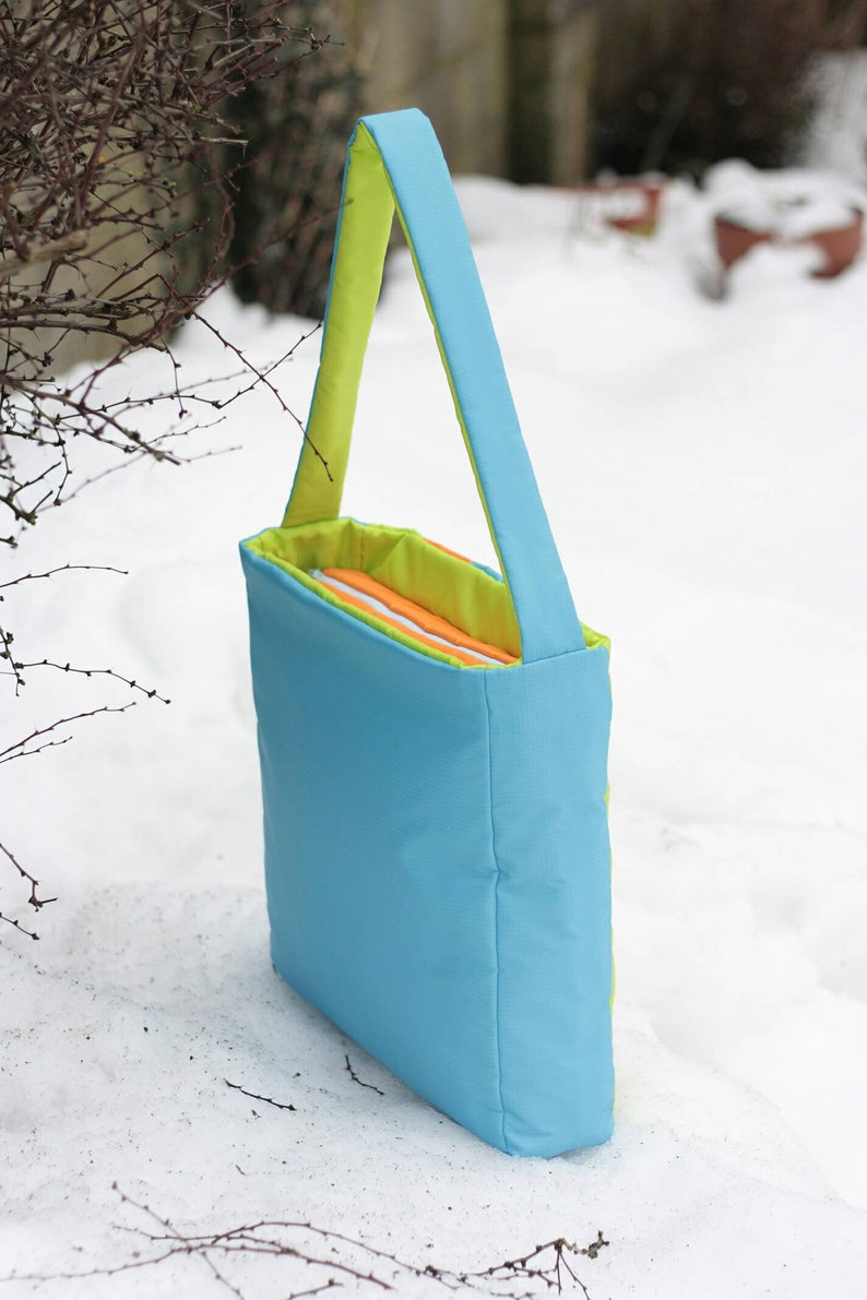 RaNel /'/'Blue Green Orange Box-Bag/'/'