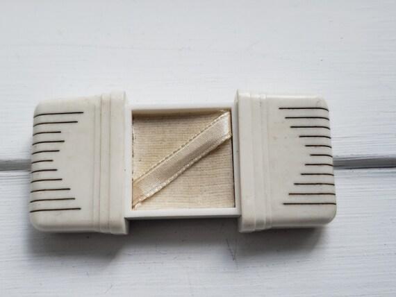 Art Deco Ring Box / Bakelite Ring Box / Wedding Ri