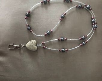 Essential oil diffuser necklace/ lanyard