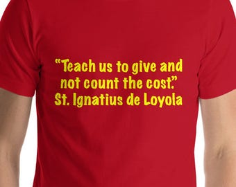 St. Ignatius  Short-Sleeve T-Shirt Yellow Lettering