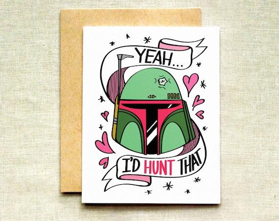 Star wars valentinstag karte