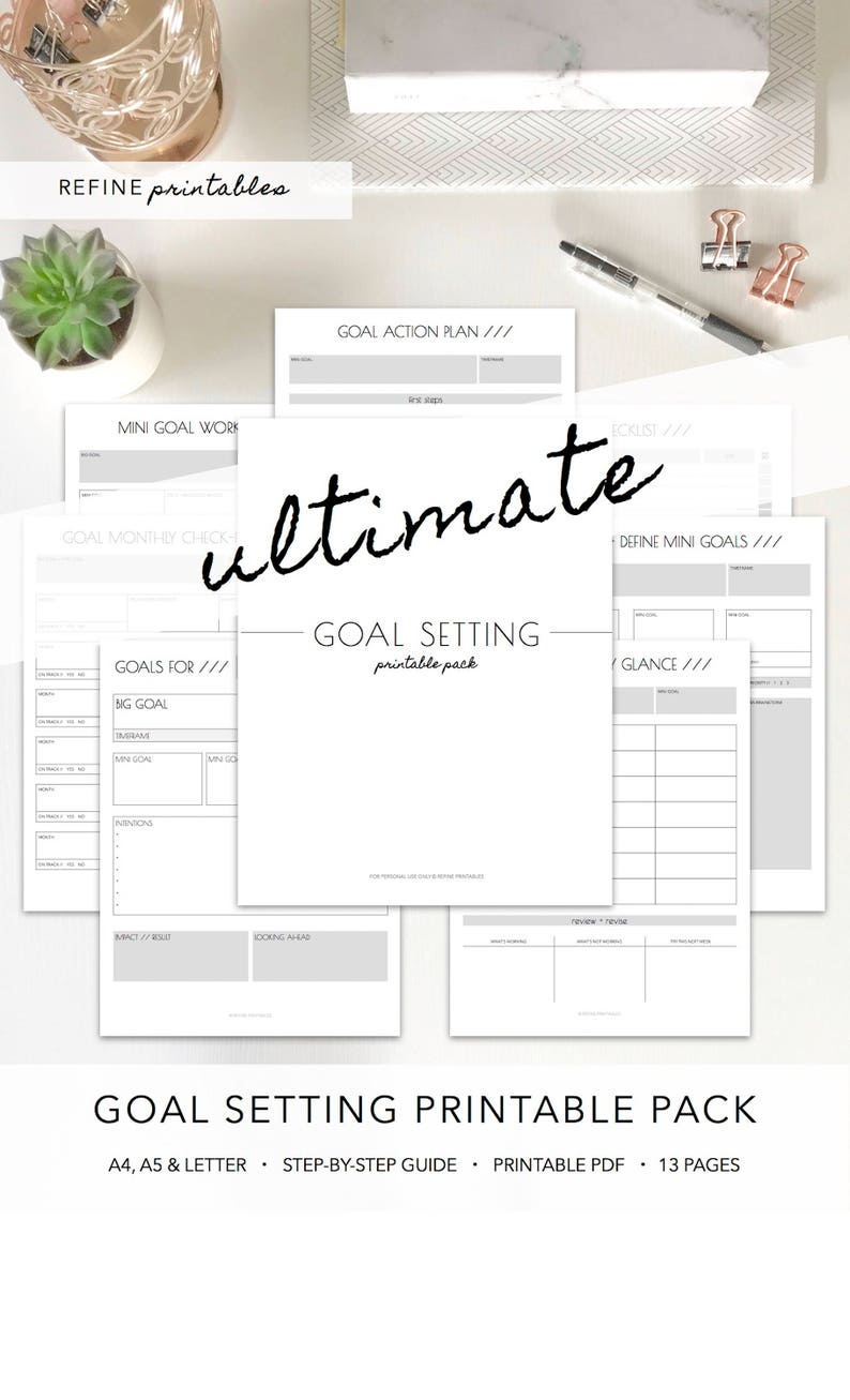 photograph about Goal Printable named Intent Surroundings Printable, Intent Planner, Purpose Worksheet, Printable, Advanced Lower Printable Planner, Achievements Planner, A4, A5