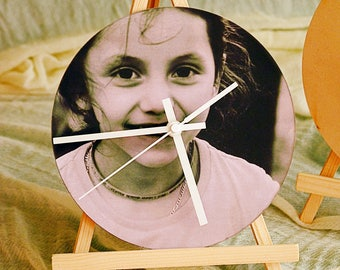 28 cm Silent Wall Clock Customize/with your picture