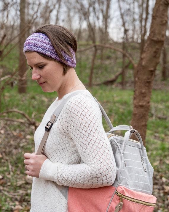 Handmade Crochet Women/'s Headband Ear Warmer Stretchy Different color