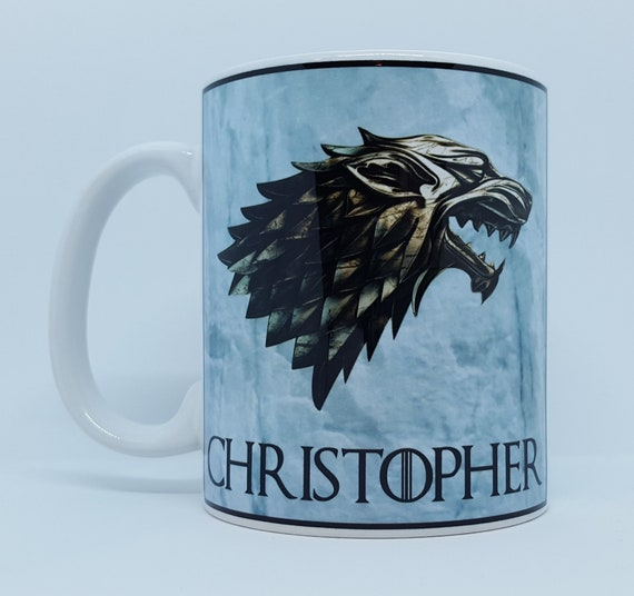Personalised Game Of Thrones Inspired Mug