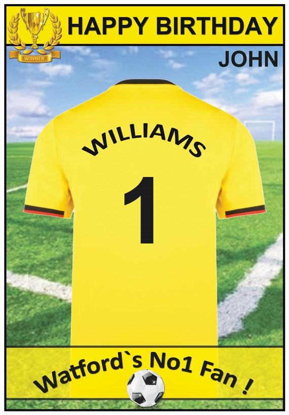 Personalised Watford Inspired Birthday Card (2 Designs) - 19-20