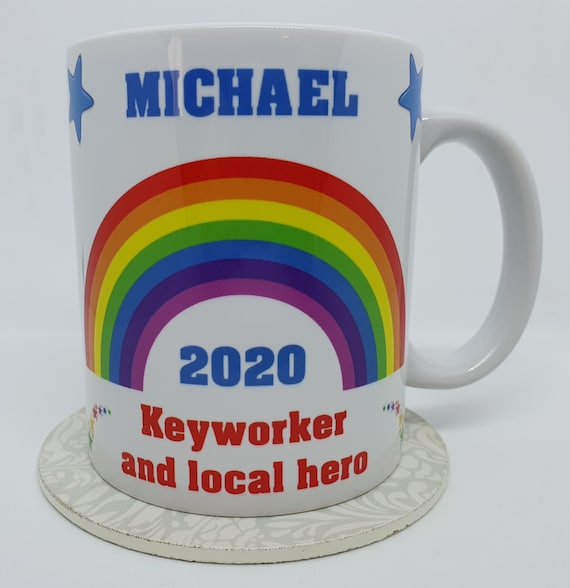 Personalised Thank You / Keyworker Mug