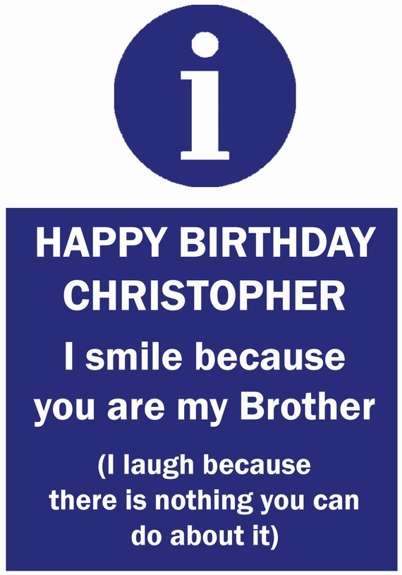 Personalised Laughing At You Birthday Card