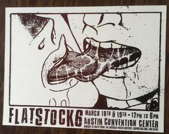Flatstock 6 sloppy kiss gigposter