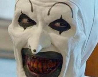 The Terrifier clown mask Art the Clown