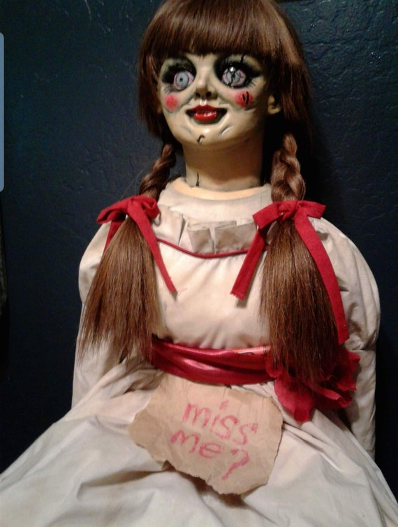 Annabelle Doll Replica Display | Etsy