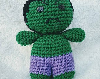 The Hulk Free Crochet Pattern • Spin a Yarn Crochet | 270x340