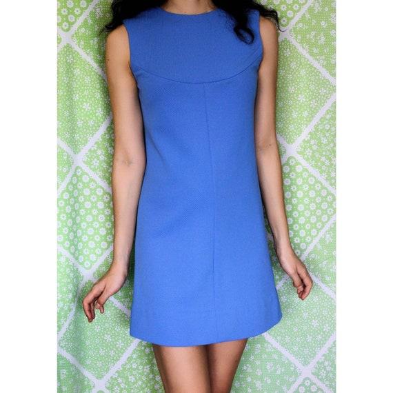 1960s vintage mod mini dress