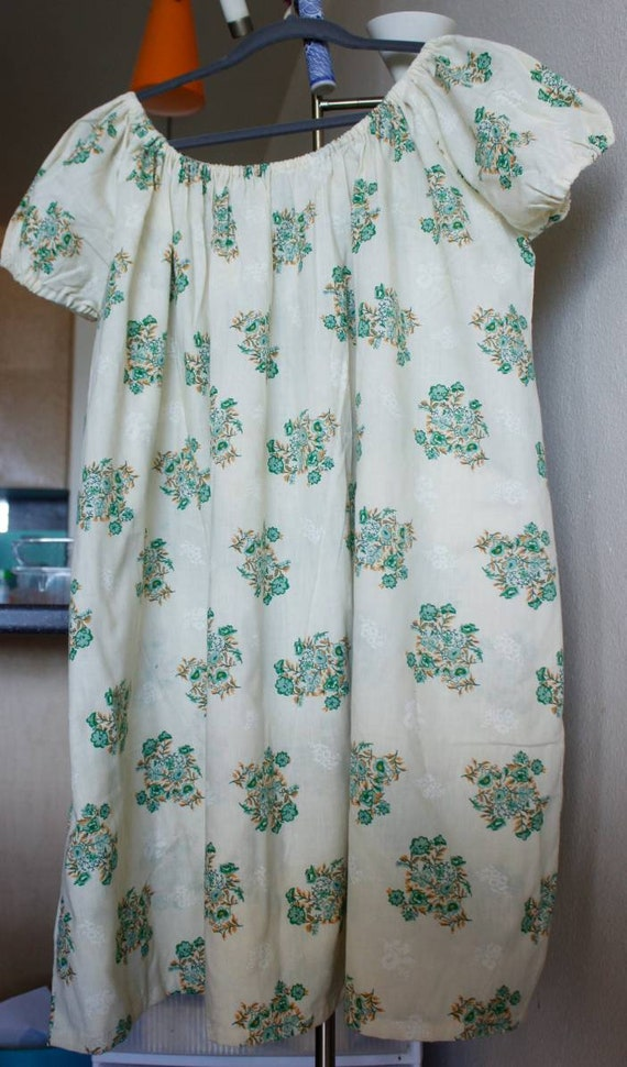 1970s vintage mini floral dress - image 3