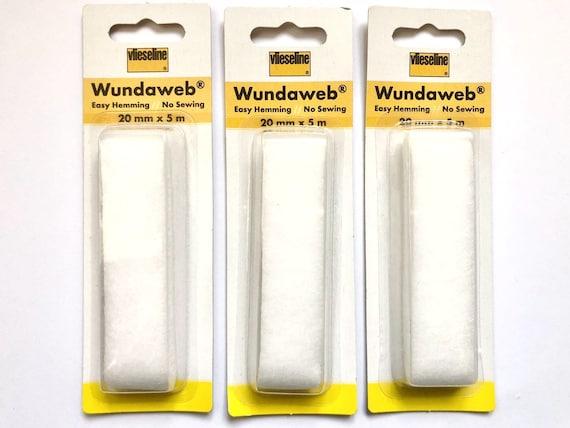 Vlieseline Wundaweb Wonderweb Easy Hemming Hem Tape No Sewing Various Sizes